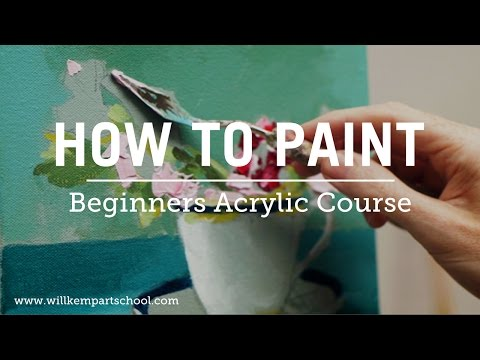 Beginners Acrylic Painting Course (New)