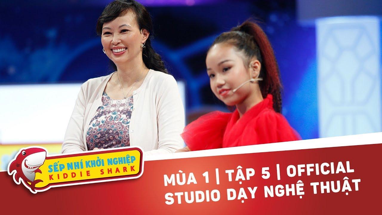 Nữ Waacker Nhí Gọi Vốn 200Triệu Ấp Ủ Đem Hiphop Việt Nam Ra Thế Giới | Kiddie Shark Tập 5 | Shark Ta