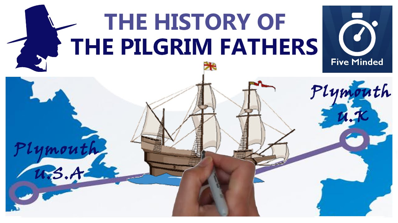 Download The History of Pilgrims, Mayflower, Thanksgiving Animated Guide