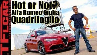 الفا روميو جوليا QV تحصل على توقيت أسوأ من بي ام دبليو X6 M و فورد فوكس RS!