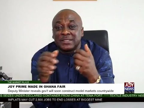 Joy Prime Made in Ghana Fair - The Market Place on Joy News (19-9-17)