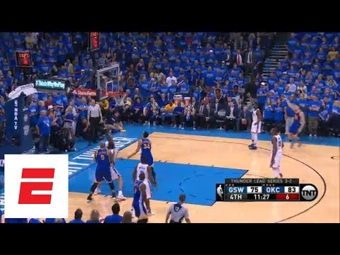 Klay Thompson's 2016 Western Conference finals Game 6 performance vs. Thunder | ESPN Archives