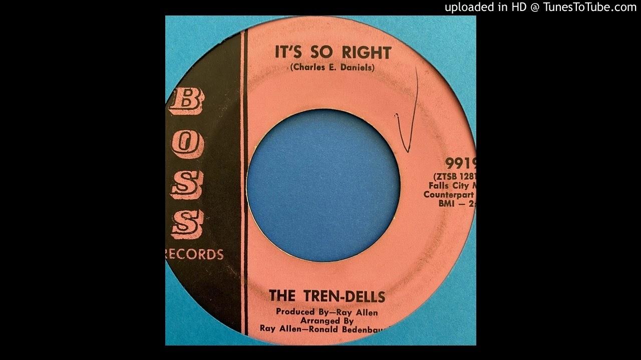 Download The Tren-Dells - It's So Right (Boss) (1967)