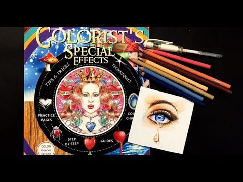 Eye Drawing Demo from Colorist's Special Effects