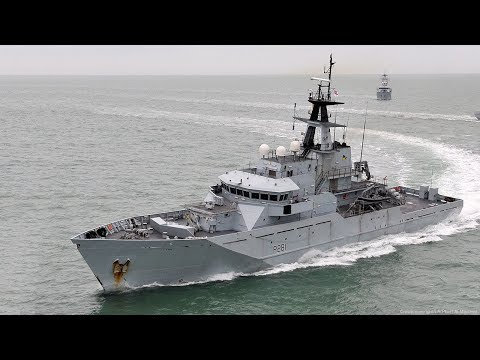 Royal Navy Rushes Out HMS Tyne To Protect UK Fishing Waters From Foreign Ships
