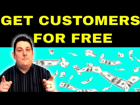 Get Customers Now For Free!