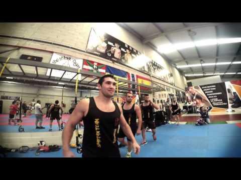 Master class de boxeo chatarrera con Javier Garcia Roche y El Pollo Ramirez