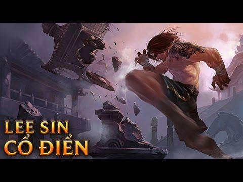 Lee Sin Cổ Điển - Traditional Lee Sin - Skins lol