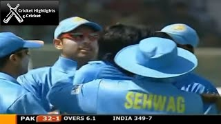 India vs Pakistan 1st ODI Match Samsung Cup 2004 - Cricket Highlights