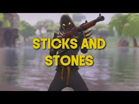 Fortnite Montage - Sticks and Stones (30.000 Subscribers Special)