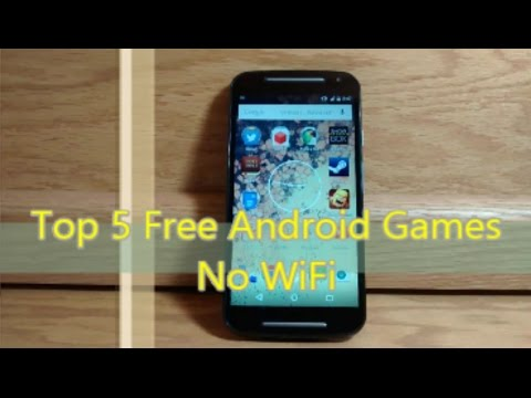 Top 5 Free Android Games No Wifi | 2015