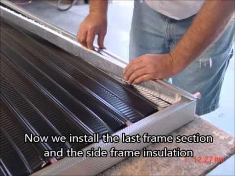 Bulding a solar collector