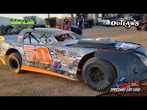 #50 Dylan McCrary - Street Stock - 3-22-19 Duck River Raceway Park - In Car Camera