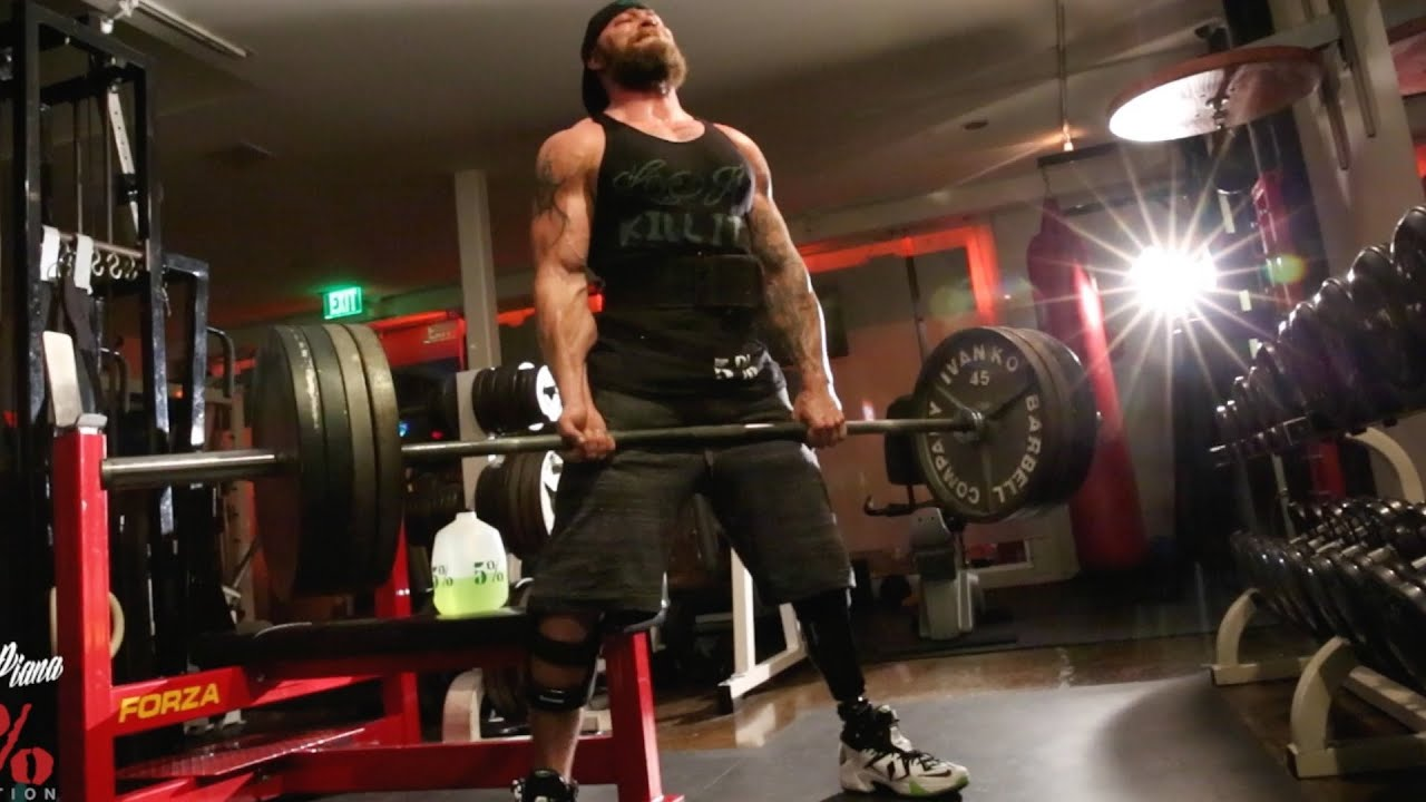 Deadlifts With That One Legged Monster Whats Your Excuse