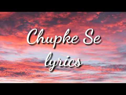 Download Chupke Se | Lyrics Video | Deepak Pandit, Pratibha Singh Baghel, Paras Nath | Sadhana , A.R Rahman