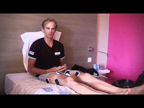 Lequipe Omega Pharma Quick Step utilise Compex pendant le Tour de France 1