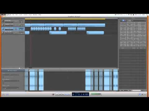 How to make a Dirty South/Rap Drum beat on Garageband