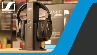 Tutorial: How to connect RS 175 headphones to TV   Sennheiser