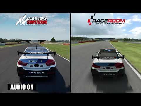 Assetto Corsa Competizione vs RaceRoom - BMW M4 GT4 Comparison |
