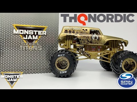 MONSTER JAM STEEL TITANS COLLECTOR'S EDITION UNBOXING AND REVIEW!