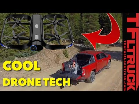 The Coolest New Drone that Will Follow Your Truck Almost Anywhere