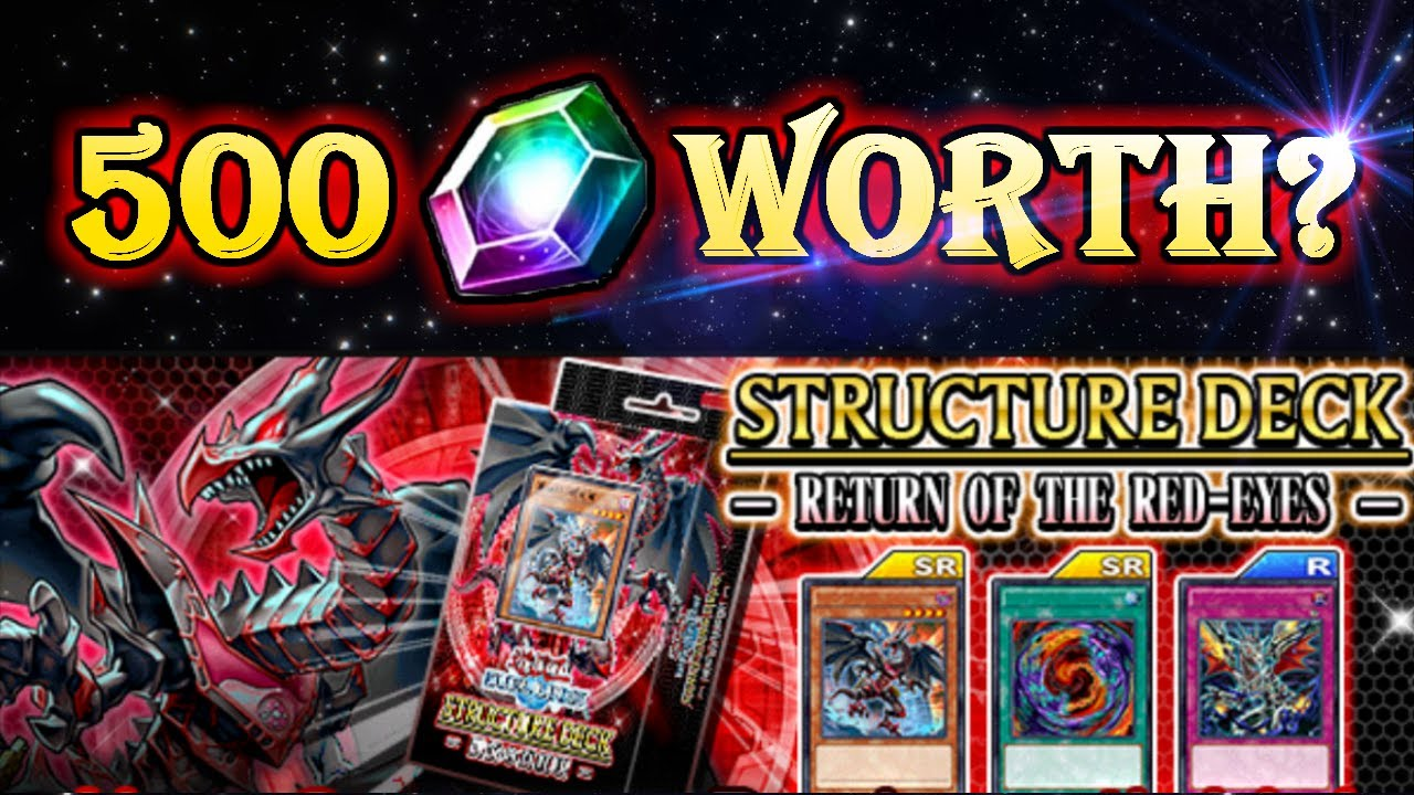 Is the RE Structure deck worth 500 gems? [Yu-Gi-Oh! Duel Links]