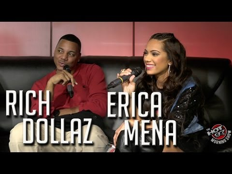 Rich Dollaz & Erica Mena give graphic details about their threesomes!!!