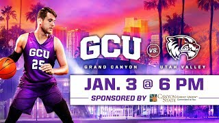 GCU Men's Basketball vs. Utah Valley Jan 3, 2019