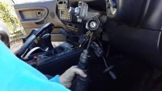 Bmw E36 steering lock fix