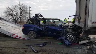 Accident mortal pe DN7 între Arad şi Pecica  09.01.18