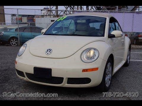 2007 Volkswagen Beetle GLS Convertible