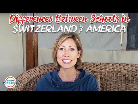 Schools in Switzerland vs. America |  20 Major Differences