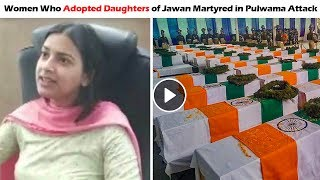 The Story of Inaya Khan - Women Who Adopted Daughters of Jawan Martyred in Pulwama Attack