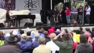 Reason Rally: Penn Jillette, Tim Minchin, Nate Phelps, Richard Dawkins (re-upload)