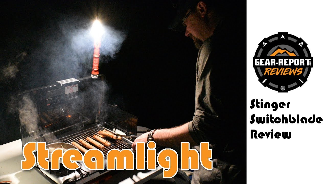 Streamlight Stinger Switchblade LED Rechargeable Work Light Review