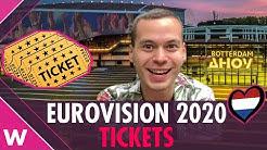 When do Eurovision 2020 tickets go on sale? Ticket price?