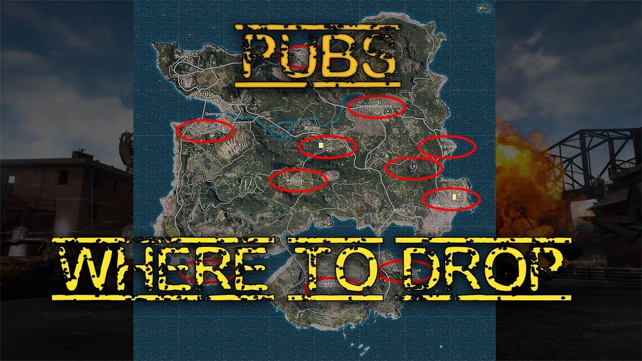 Top Places To Find The Best Loot: This Is Where You Should Land!