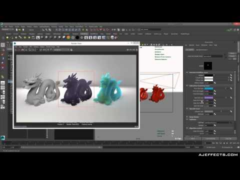 Maya: Subsurface scatter tutorial
