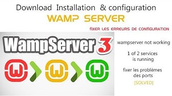 wamp erver not working-1 of 2 services is running - 2018