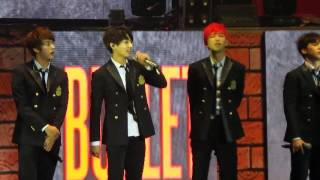BTS (Bangtan Boys) 방탄소년단 Introduction (The Red Bullet Manila)