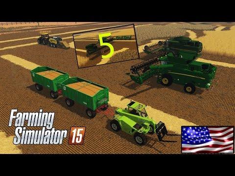 Farming simulator 15 | RP | La récolte continue! | Les Belges aux States #5