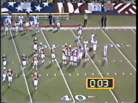 Steinfort fair catch kick, Broncos-Patriots, 1980