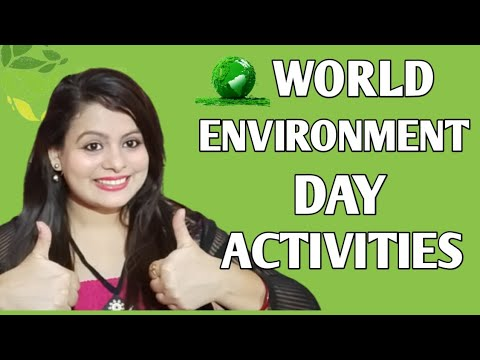World Environment Day activities and crafts/World environment Day ideas/World Environment Day 2021