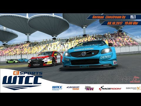 eSports WTCC - Saisonlauf 8 - Shanghai - [R3E] (deutsch)