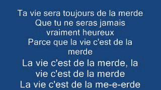 Giedré - La vie c'est de la Merde - Karaoké