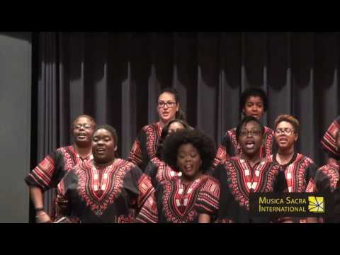 ‪African American Choral Ensemble (USA): Tshotsholoza, MUSICA SACRA INTERNATIONAL 2016 ‬