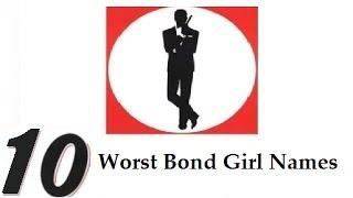 Top 10 Worst Bond Girl Names