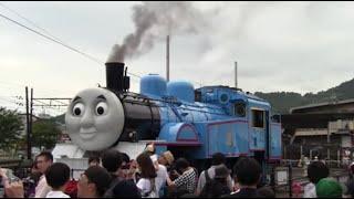 【大井川鉄道】2019トーマス大井川鉄道車両基地(Japanese Real Thomas in Oigawa Railway train base)