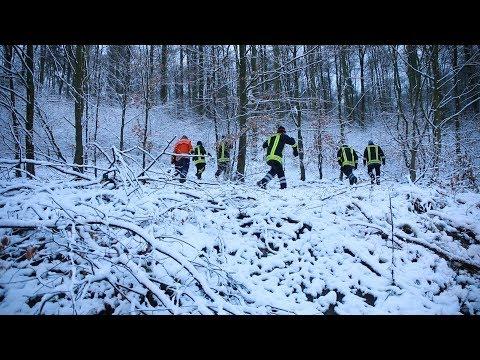 09.12.17 - Einsatzvideo - Fortsetzung der Suche nach abgestürztem Flugzeug im Süntel