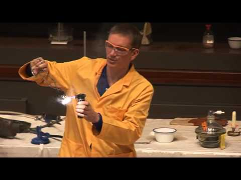 Fire And Flame  38 - Magnesium Burning In CO2